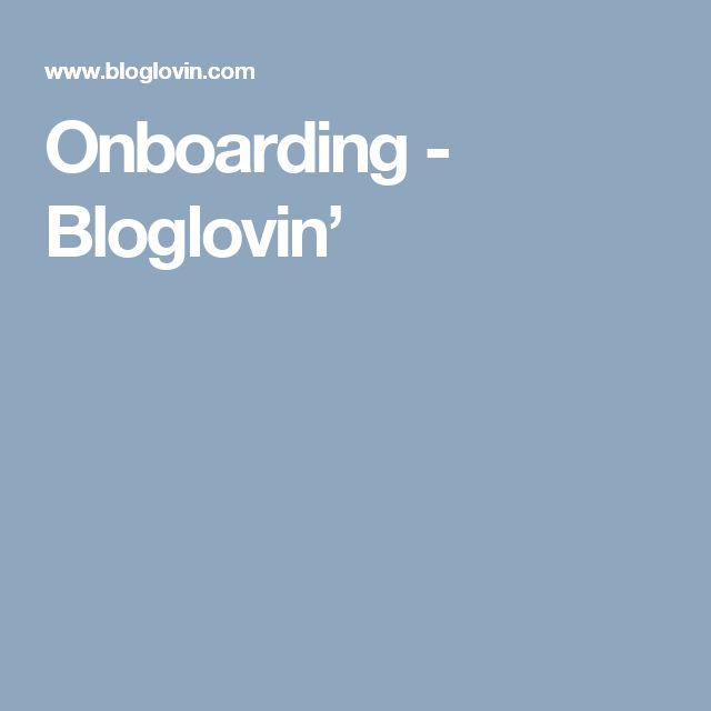 Onboarding - Bloglovin'
