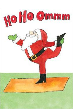 Even Father Christmas needs time out … Follow his example and take time out to enjoy your own practice during this busy time .... #yoga #yogafun #yogacartoon #santa #fatherchristmas #christmas #yogalife #yogaworld #om #namaste