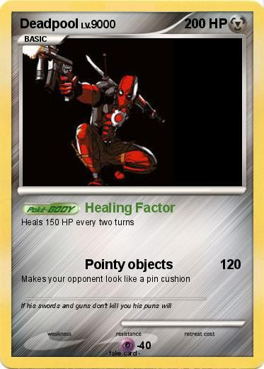 i love deadpool pokemon cards pinterest deadpool pokemon cards and pok mon. Black Bedroom Furniture Sets. Home Design Ideas