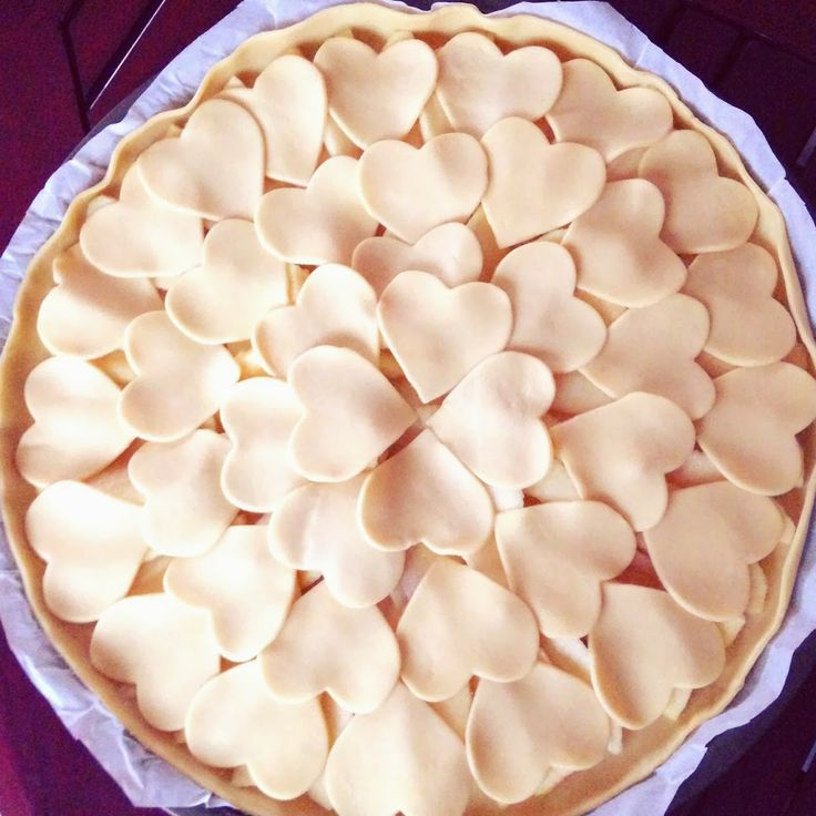 Valentines day pie