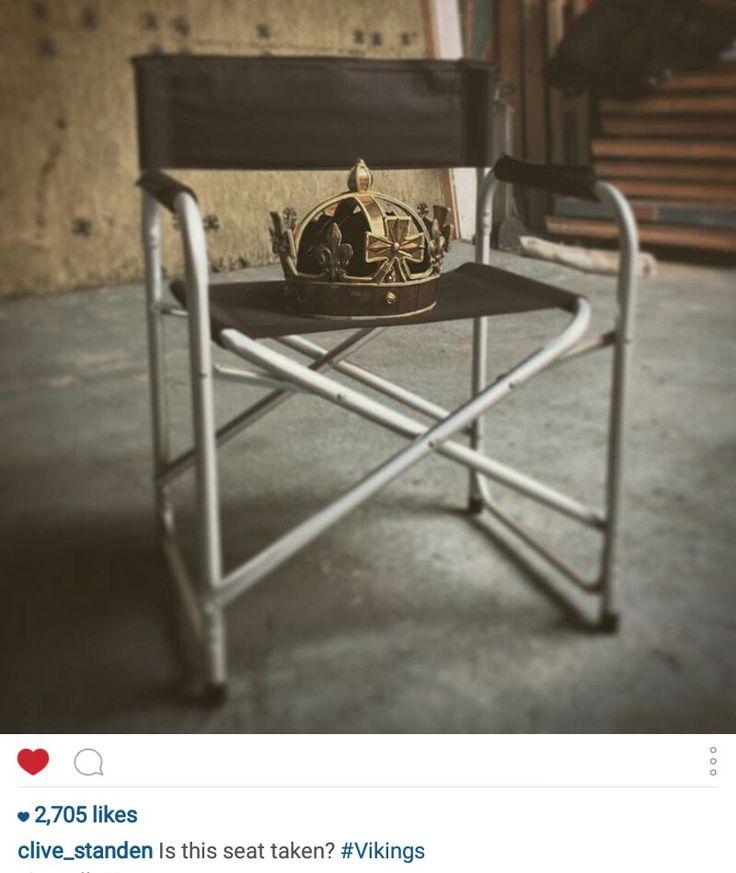 From Clive's Instagram -Season 4 #vikings #vikingsonhistory #vikings4 #clivestanden