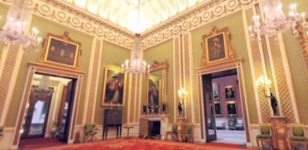 Tour virtual mostra salões do Palácio de Buckingham em 360 graus                                                                                                                                                                                 Mais