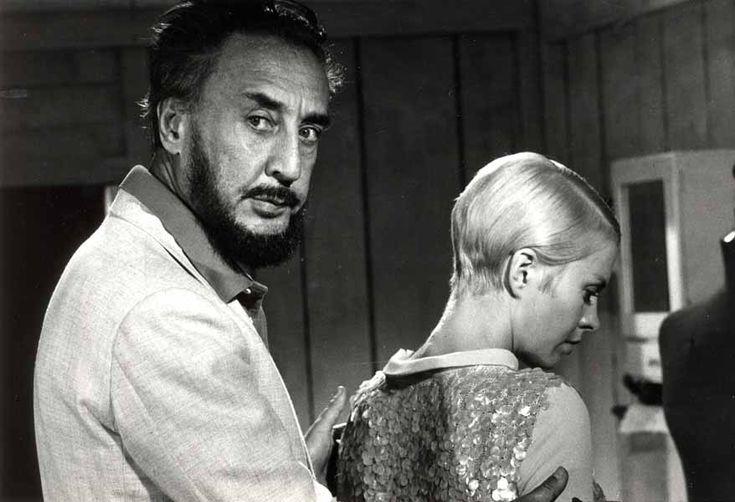 Le réalisateur et écrivain Romain Gary et l'actrice Jean Seberg ...