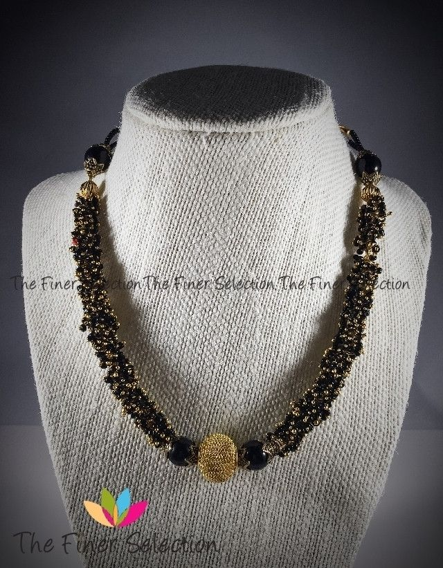 Casual Gungaroo Necklace Set