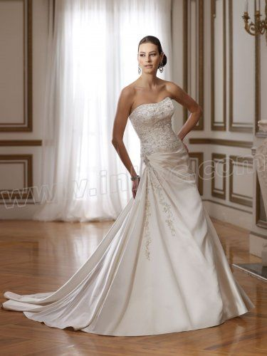 Baroque Sweetheart Hand-Beaded And Embroidered Bodice Mermaid Wedding Dress