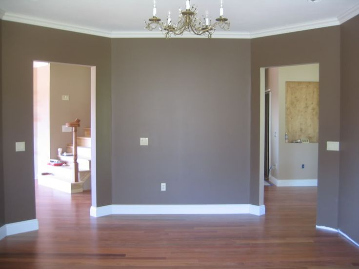 Accent Wall Color For Master Bedroom Sherwin Williams Cobble Brown With Divine White Stencil