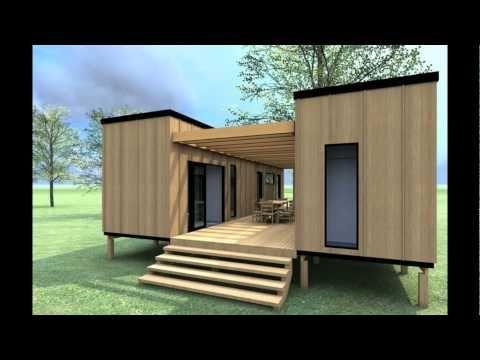 Pin de ailin vainstein en containers pinterest casas - Casas prefabricadas contenedores ...