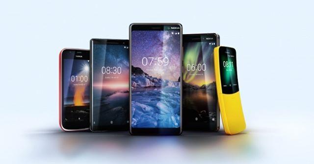 نوكيا Nokia تعلن عن أربعة هواتف ذكية جديدة في معرض Mwc 2018 Mwc Nfc Nokia Usb أندرويد أوريو البطارية الذكية Smartphone Premium Smartphone Nokia Phone