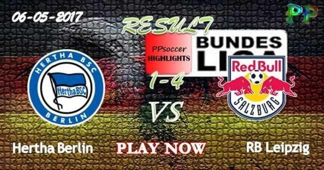 Hertha Berlin 1 - 4 RB Leipzig HIGHLIGHTS