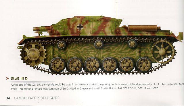 Miniaturas Militares Por Alfons Cànovas Guia De Colores Nº 5 Del Ejercito Aleman En La Ii G M Ejercito Alemán Militar Tanque Militar