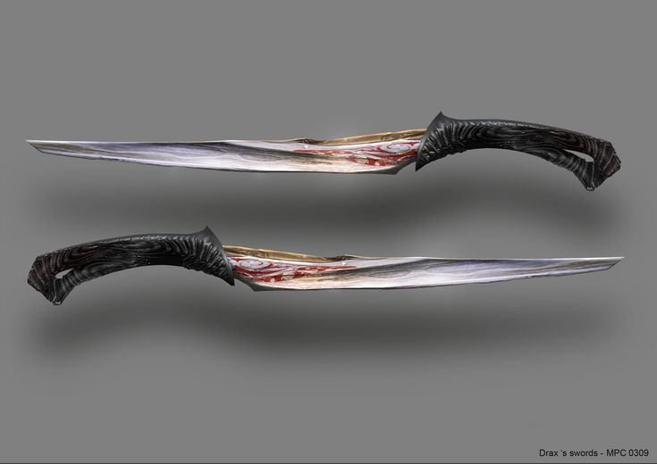 These are my twin daggers,Yin and Yang. i usually have them with me. I generally use these or my Katana.