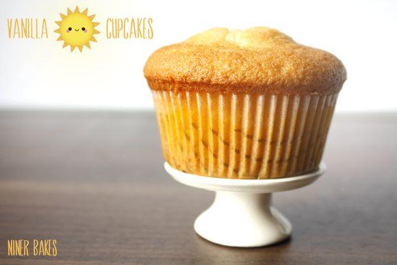 das beste vanille cupcake rezept - von niner bakes