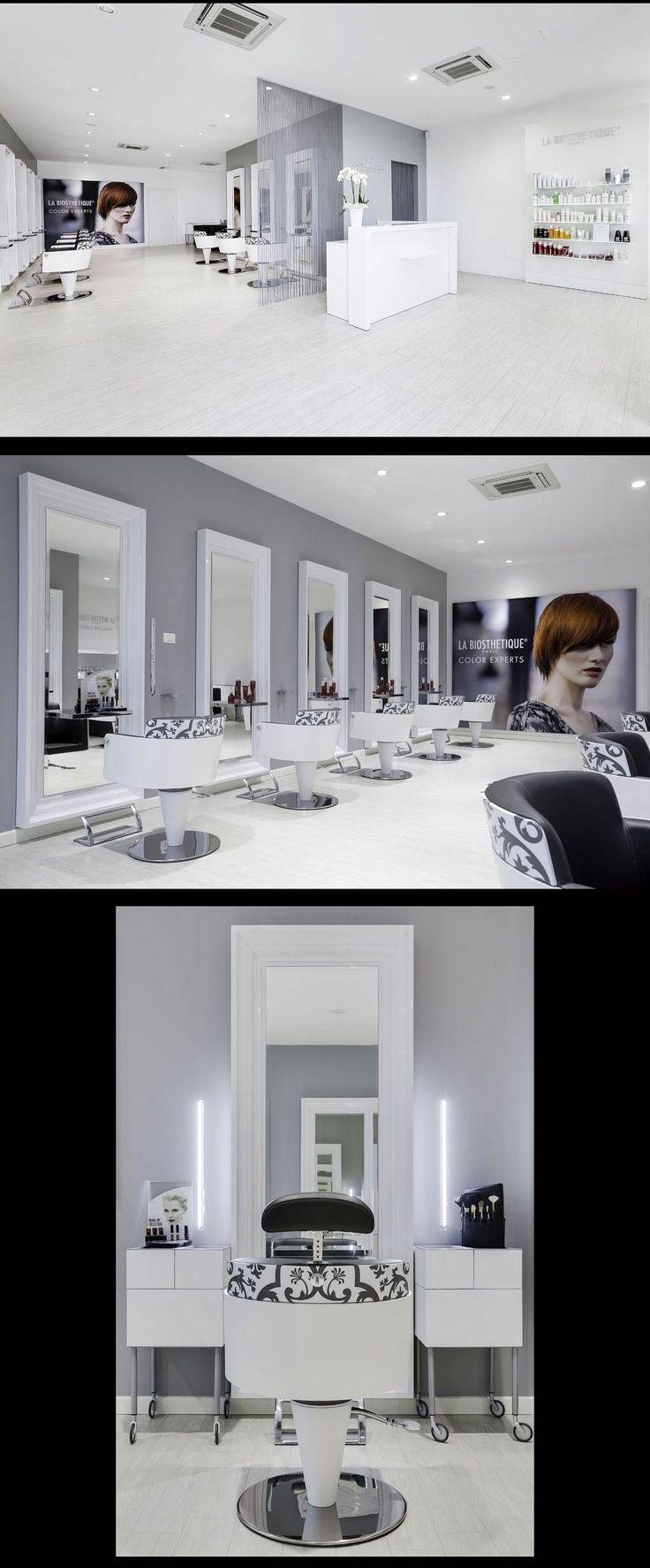Hair Salon Capolavoro - Mantova (Italy) - Salon Design by Mauro Cimarosti - | hair-sublime.com