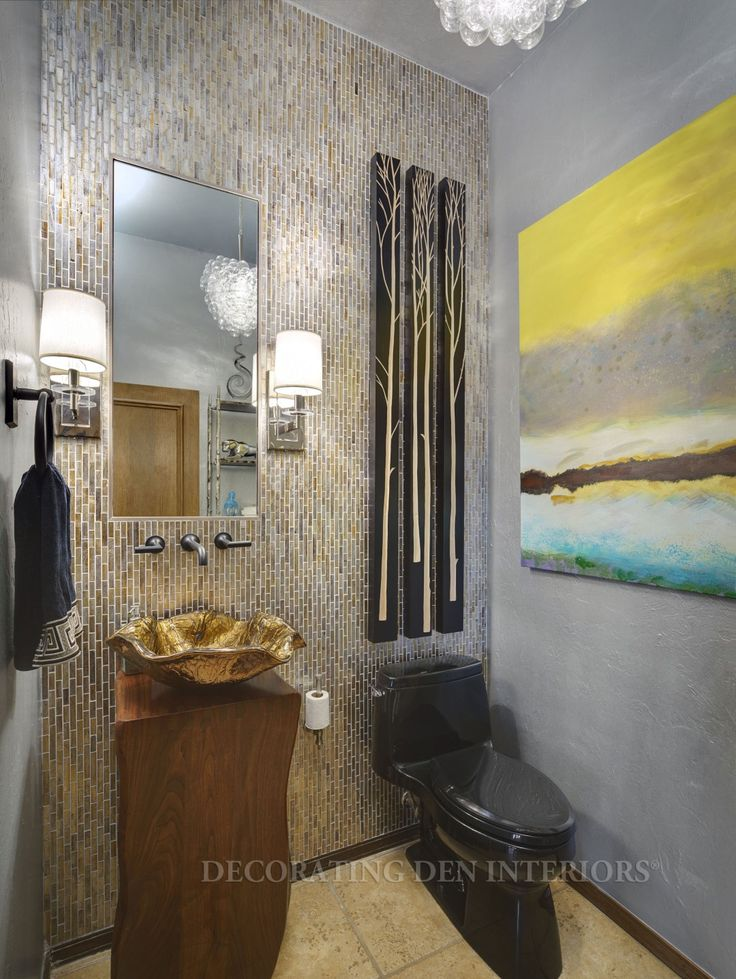 Beautiful Bathroom designs by Decorating Den Interiors. Want this look? Call Decorating Den Interiors by Julie Ann to set up your FREE consultation 651-504-2080. #Design #bathroom #home #decorating #decor