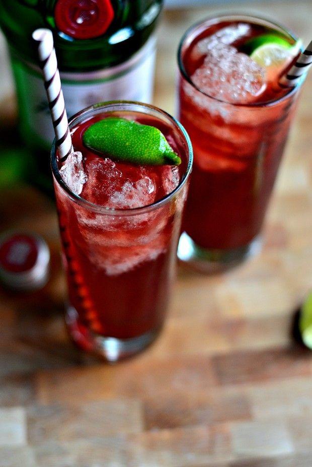 Pomegranate Gin & Tonic l SimplyScratch.com  (10)