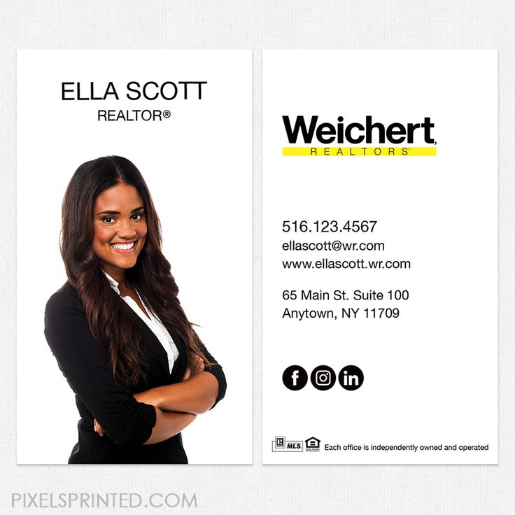 47 best Weichert business cards and stationery. images on Pinterest