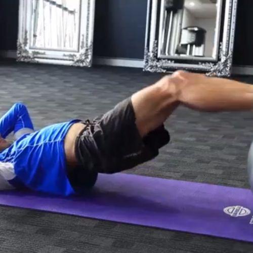 Craig Alexander Ironman Core Workout | Run Coaching, Ironman and Triathlon Specialists - Kinetic Revolution