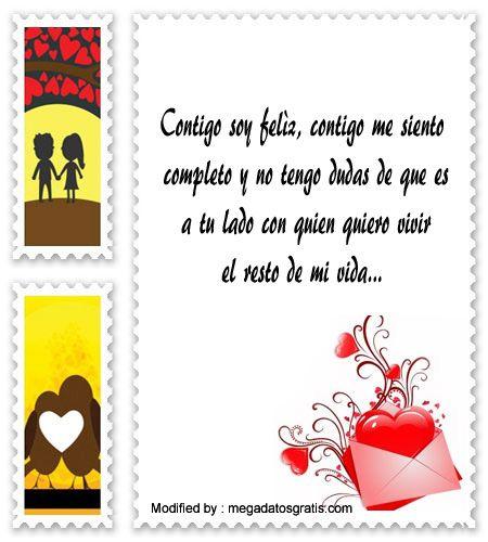 palabras y tarjetas de amor para mi novio, originales mensajes de romànticos para mi novio con imágenes gratis: http://www.megadatosgratis.com/textos-de-amor/