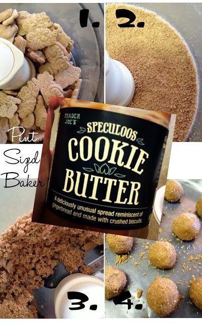Pint Sized Baker: Trader Joe's Cookie Butter Truffles