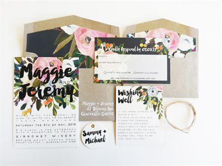 Lola Wedding Invitation Suite