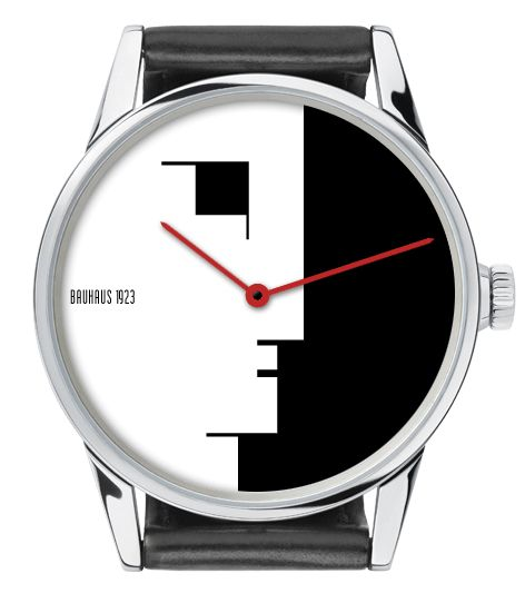 BAUHAUS CLOCK DESIGN