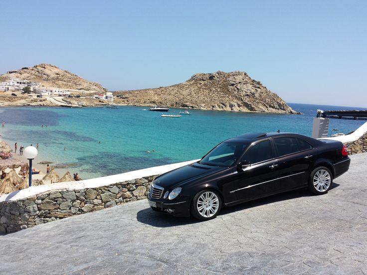 Mercedes E220 - Mykonos