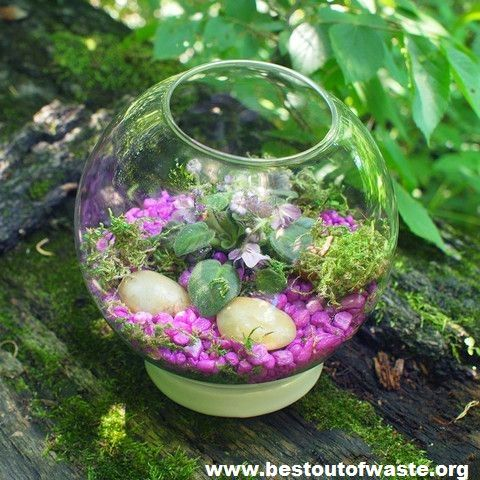 21 best making awesome stuff out of waste images on for Best out of waste garden ideas