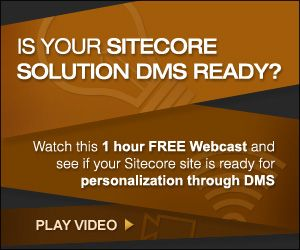 Learn how to create personalized and engaging web experiences with #Sitecore #DMS