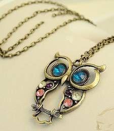 Chic Owl Neckpiece shop online