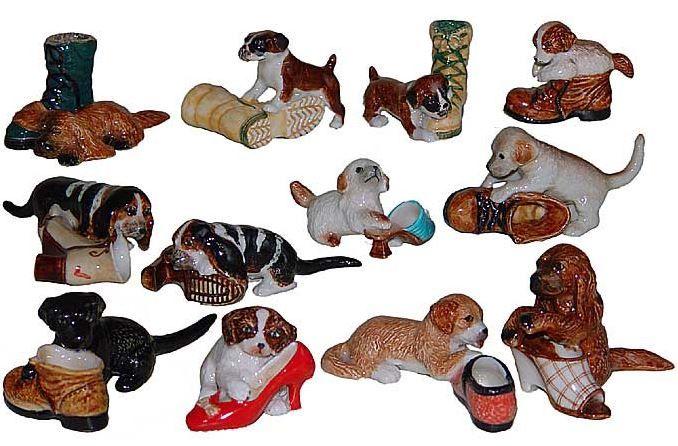 Фарфоровые щенки играют собувью. Миниатюрные статуэтки из Франции, ручная роспись. Поставки под заказ раз в две недели, постоянно обновляемая коллекция в наличии в шоуруме. По вопросу покупки пишите whats app 89503167416, доставка во все регионы России