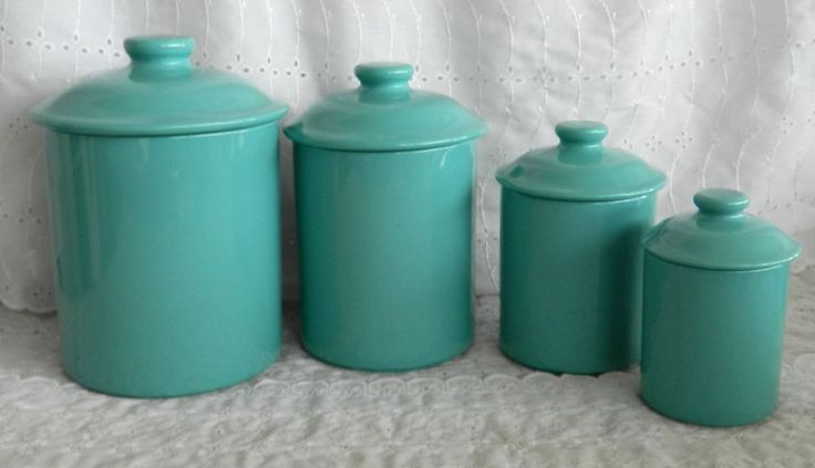 17 best images about kitchen canisters on pinterest jars teal glass canisters vintage kitchen canisters atterbury