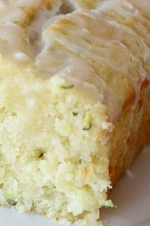 Glazed Lemon Zucchini Bread ~ When it is cold outside, it is the best time to bake something tasty and unusual. Zucchini bread will be something perfect to have sweet and warm things to eat on a cold day.