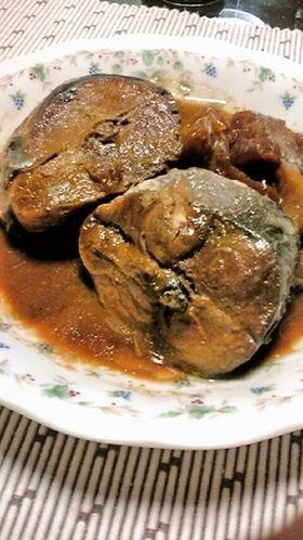 ご飯の友♪圧力鍋で鯖の味噌煮