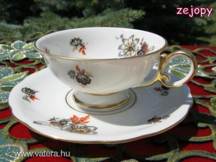 Porcelán kávéscsésze (7847) - Vatera.hu