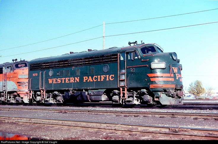 RailPictures.Net Photo: WP 917D Western Pacific EMD F7(A) at Stockton, California by Sid Vaught
