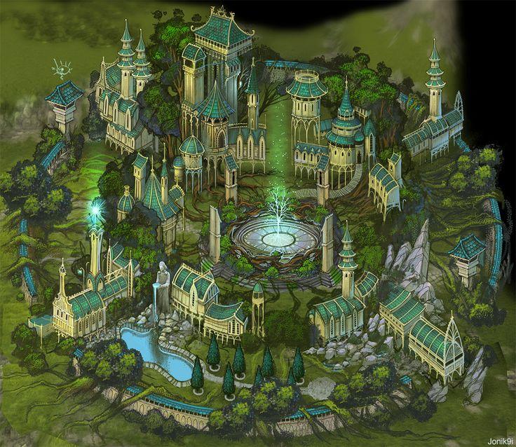 Art for game. elves by Jonik9i on deviantART