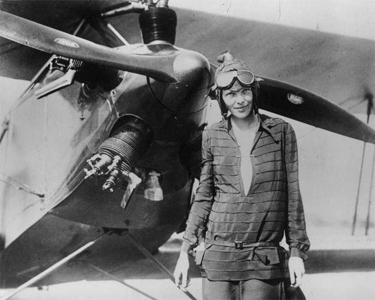 А что если Амелия Эрхарт и ее спутник Фред Ноонан не погибли в авиакатастрофе? — Vinegret