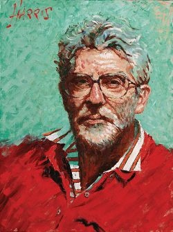 Self Portrait Striped Shirt by Rolf HARRIS Limited Edition Print...£175