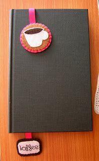 Cosir i fer ampolles: Puntos de libro, tazas de café de fieltro