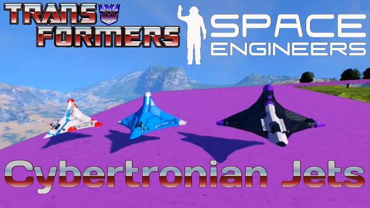 Cybertronian fighters | Space Engineers | Transformers G1