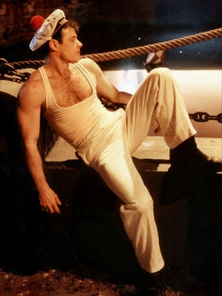 Brad Davis in Fassbinder's Querelle (1982)