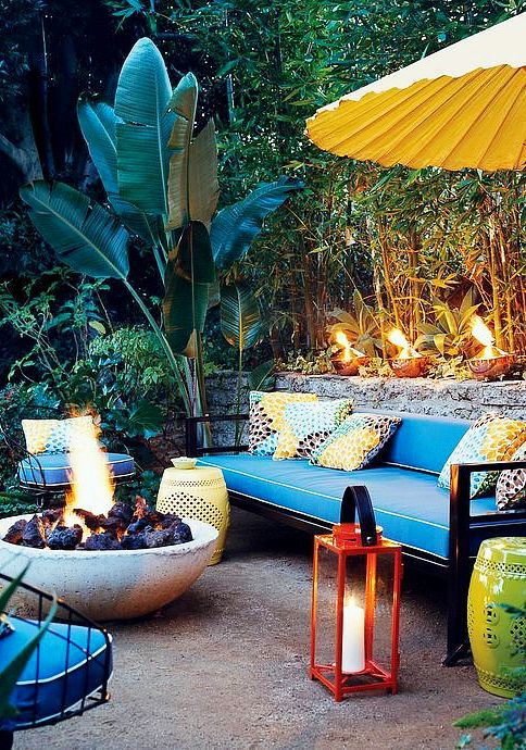 20 Epic Backyard Lighting Ideas to Inspire your Patio Makeover | DIY Outdoor Design Inspiration | Tropical patio