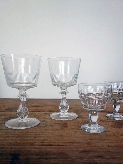 グラスはアクセサリー感覚で