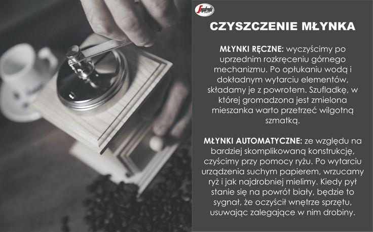 O smaku parzonej kawy decyduje nie tylko wysokojakościowa mieszanka, ale i sprawny - i co równie ważne - czysty sprzęt. Nasz barista podpowiada, w jaki sposób należy dbać o domowy młynek do kawy. #KlubSegafredo #PoradyBaristy #CzyszczenieMłynka #MłynekRęczny #MłynekAutomatyczny