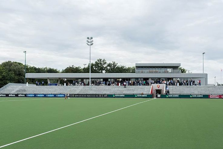 Diederendirrix's Clubhouse of Eindhoven hockey club Oranje-Rood opened