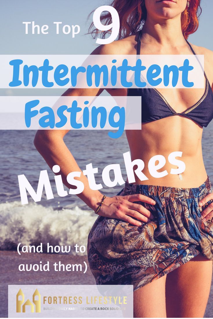 The Top Intermittent Fasting Mistakes. Lose Fat quickly by learning to properly …
