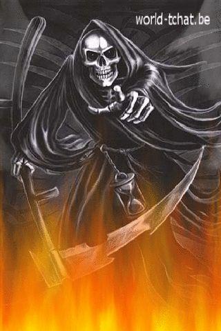 Fond écran animé gratuit Halloween 2012 pour smartphone                                                                                                                                                                                 Plus