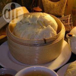 Photo recette : Petits pains chinois au porc sauce barbecue