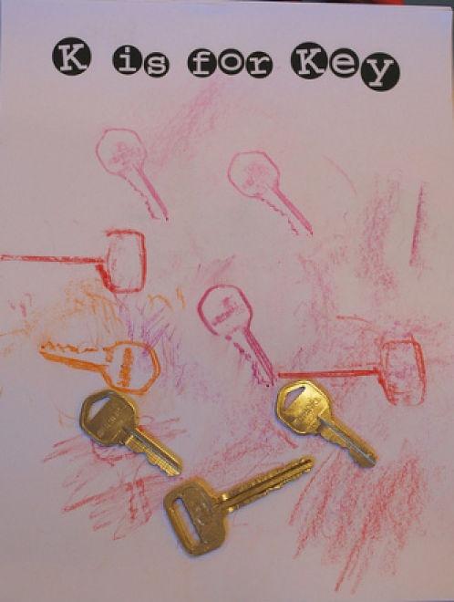 Key Rubbings... letter K