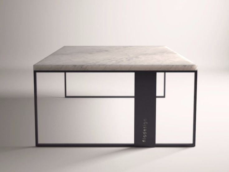 Carrara Marble Coffee Table For Living Room QUADRO By FILODESIGN Di Michela  Gerlo U0026 C.